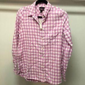 J.Crew Boy Shirt, Flannel Plaid, Size 6